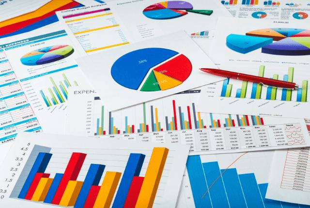 גרף צמיחה עסקית, נתוני עסק, ייעוץ לעסקים