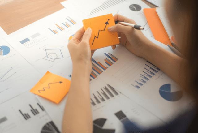 תוכנית עסקית, צמיחה, זינוק מניות חברה