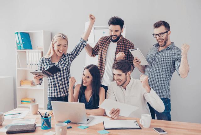 עובדי חברה מאושרים, אווירה שמחה