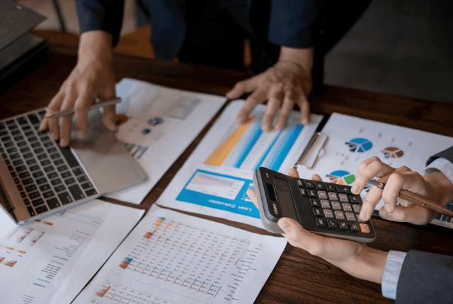 תוכנית עסקית הלוואות, דוחות תרשים