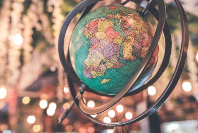 כדור הארץ, המחשה של מפת העולם