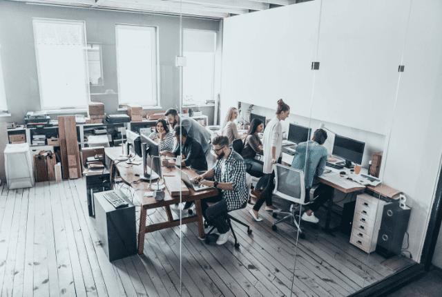 עבודה, משרד, מחשבים