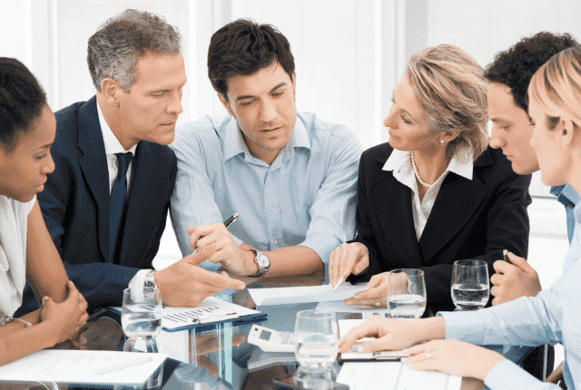 ייעוץ לרשת זכיינות, פגישה עסקית