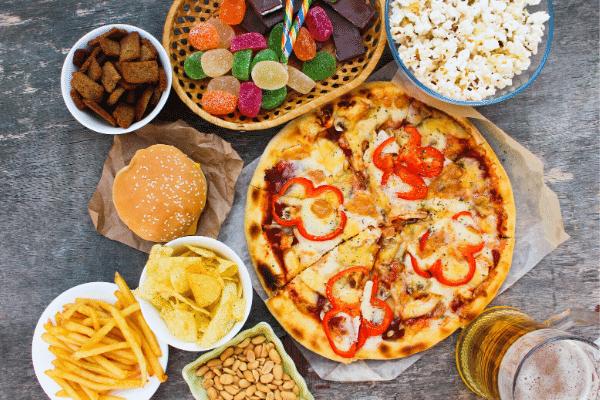 פיצה, מסעדה, מזון