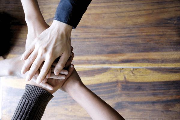 ליווי ארגוני ולחיצת ידיים