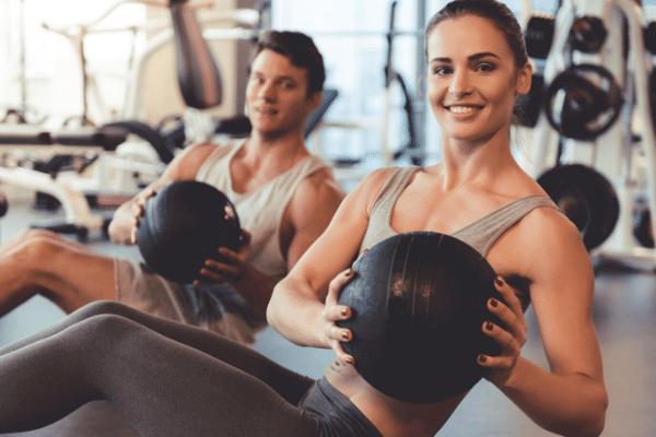 מכון כושר, אימון פיזי, פעילות גופנית