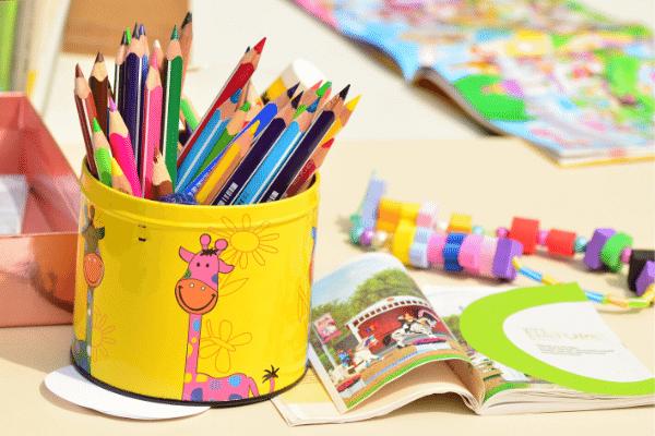 יצירות בגן ילדים