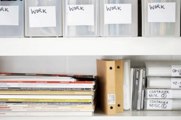 ארגון, סדר, עבודה