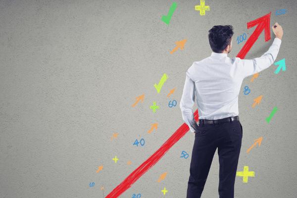 גרף עלייה של חברה, הצלחה עסקית של חברה